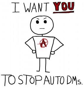 Stop Auto DMs - The Anti-Social Media