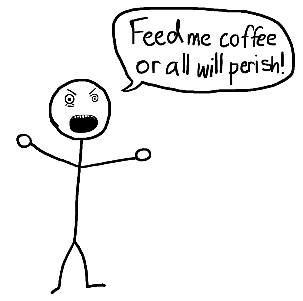 Feed Me Coffee - The Anti-Social Media