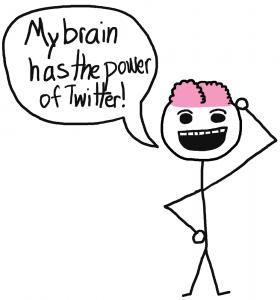 Brains On Twitter - The Anti-Social Media