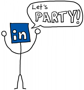 Party On LinkedIn - The Anti-Social Media