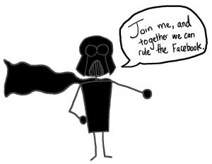 Darth Vader - The Anti-Social Media