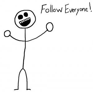 Follow Everyone - The Social Media