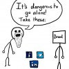 Corporate Share Buttons - The Anti-Social Media