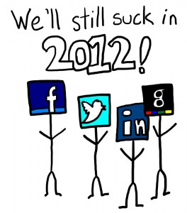 2012 Social Media Predictions - The Anti-Social Media