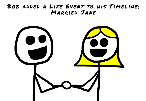 Facebook Life Events - Marriage - The Anti-Social Media