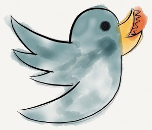 The Bloodied Twitter Bird